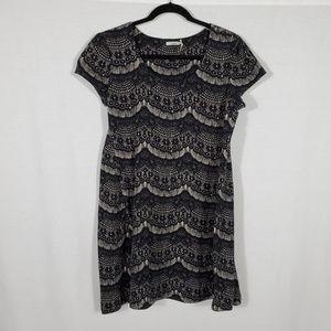 Kimchi Blue Patterned Mini Dress•Size L•